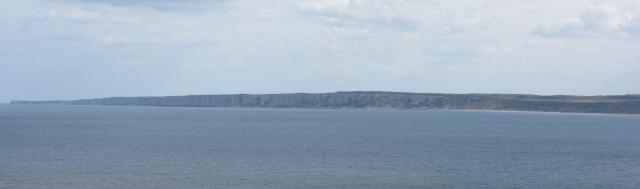 Bempton Cliffs, from Filey Brigg