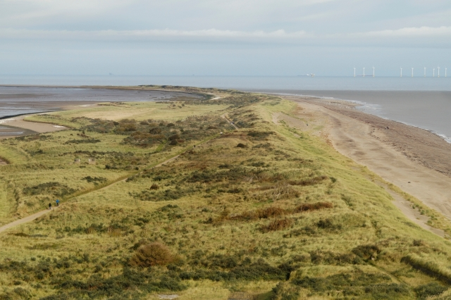 Spurn, looking North from the lighthouse